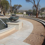 Fountain Surounds and Pathways