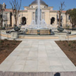 Fountain Suround and Pathway