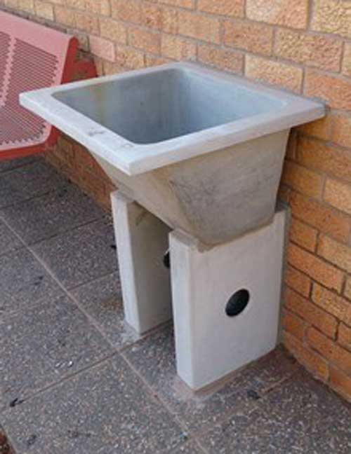 Concrete Wash Basin