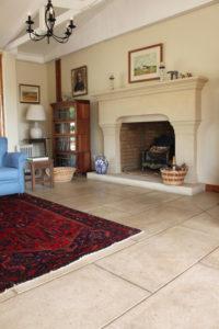 Cut Stone Pavers-Lounge Floors