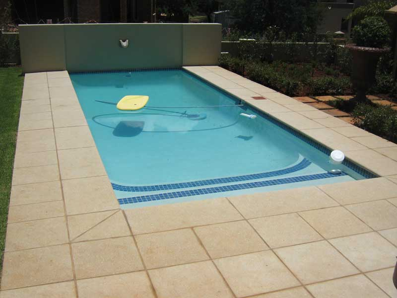 Cut Stone Pool Coping