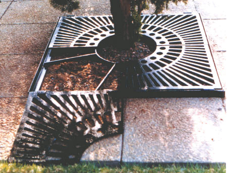 Wilsonstone Landscaping Products Tree Surrounds Accessories The Baltimore Cast Iron Wilsonstone