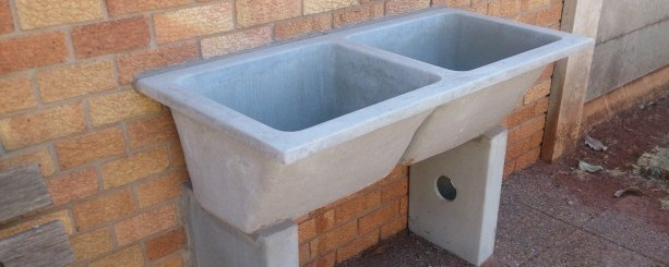Outdoor sinks for sale pin by pamela steiner on potting for Outdoor bathrooms for sale
