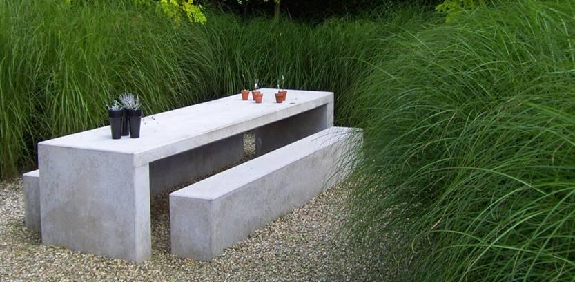 Stone Bench Inspiration