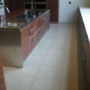 Cut Stone Pavers -Kitchen