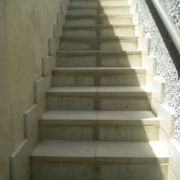 Stone Pavers Stair Case