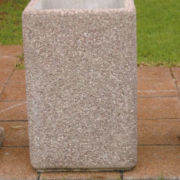 Landscaping Products- Concrete Dustbin-Sketch