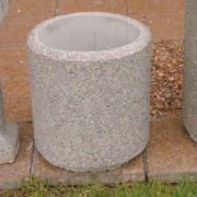 Concrete Dustbin-West Street