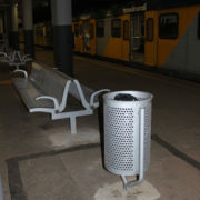 Benches and Dustbins